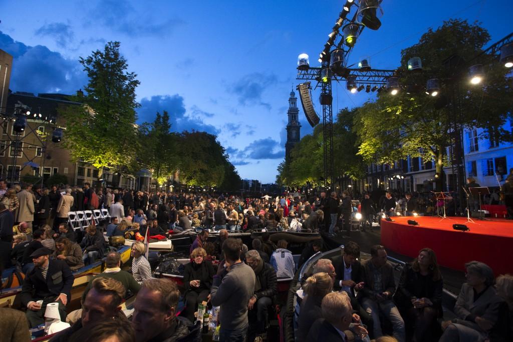 Prinsengrachtconcert Amsterdam AVROTROS