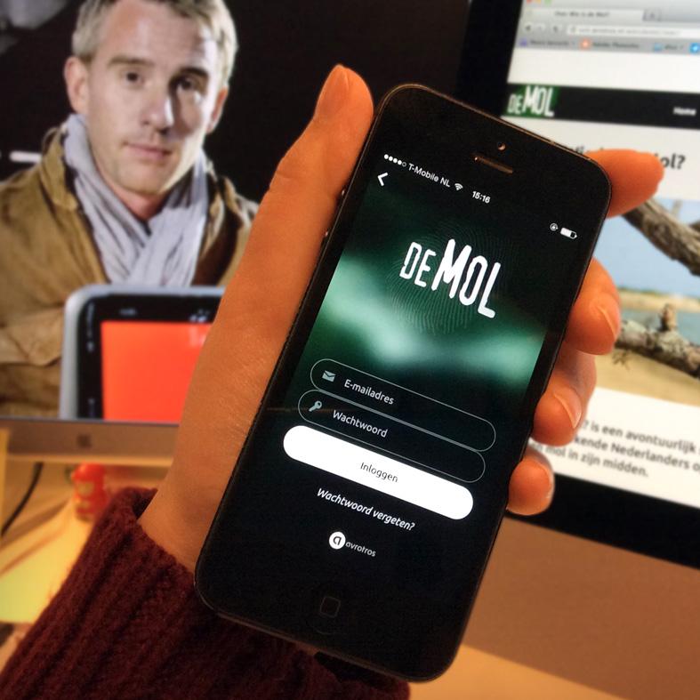 Wie is de Mol App