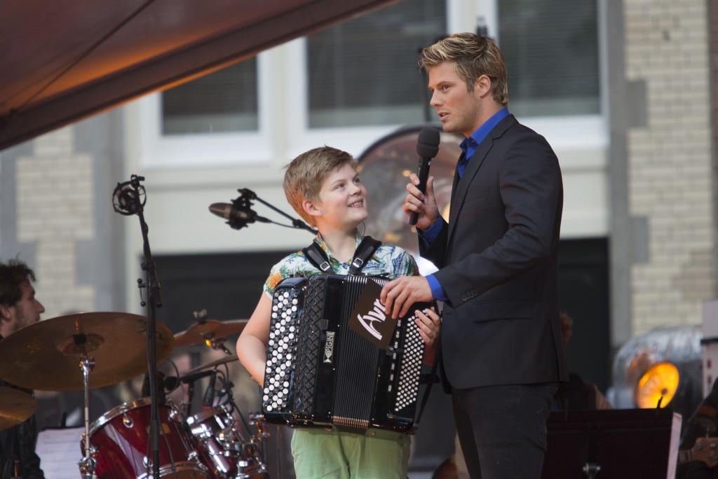 Tim Douwsma Kinder Prinsengrachtconcert